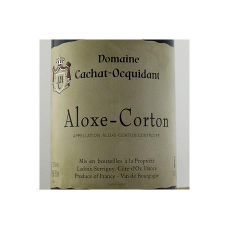ALOXE CORTON - DOMAINE CACHAT OCQUIDANT